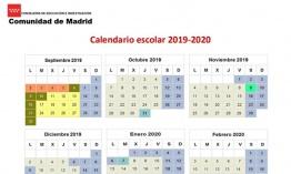 Calendario Escolar 2019 Madrid.Calendario Escolar Para El Curso 2019 20 De La Comunidad De Madrid