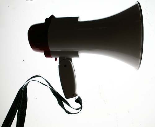 This is not a social media megaphone