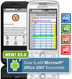 Documents to go android Documents To Go 3.0 para Android