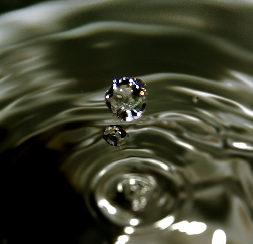 The Diamond-Water Paradox