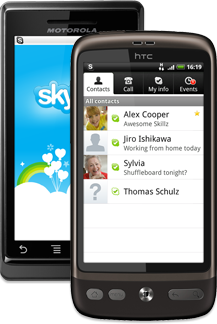 skype for android1 Skype para Android actualizado