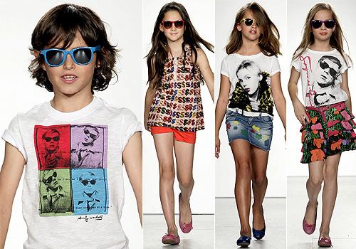 Andy Warhol for kids: lo último en moda para niños