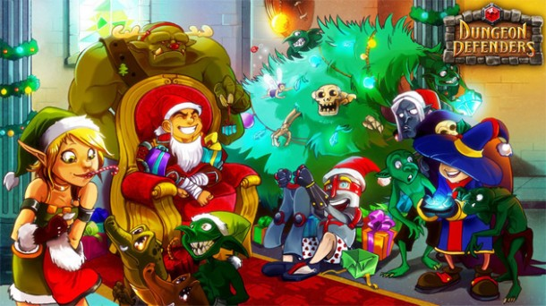 dungeon defenders christmas1 610x342 Descarga Android de la semana: Dungeon Defenders