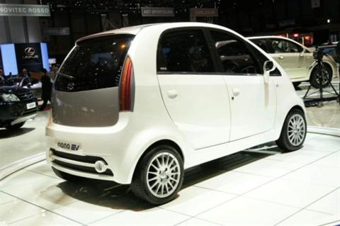 Tata Nano EV, detalles y fotos desde Ginebra