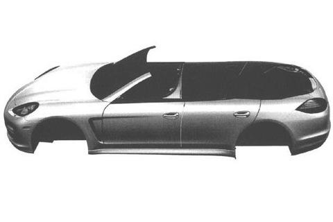 Porsche Panamera Convertible: ¡filtrado!