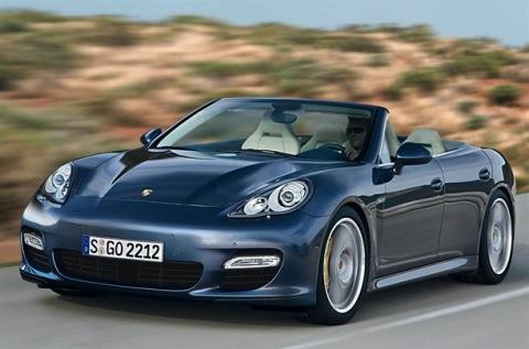 Recreación del Porsche Panamera Convertible