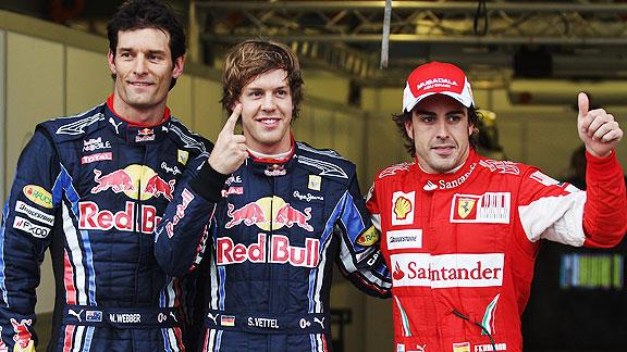 Los Red Bull amenazan con ser los nuevos Brawn GP