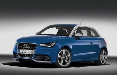 Recreación final del Audi S1