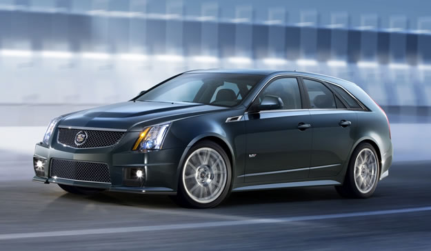 Cadillac CTS-V Sport Wagon debuta en Nueva York 2010