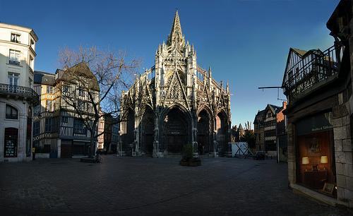Rouen la ciudad de juana de arco - Balatum saint maclou ...