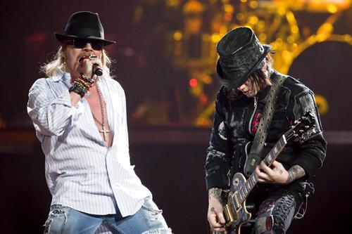 ¡¡Guns N' Roses vuelve a Costa Rica para el proximo año!!