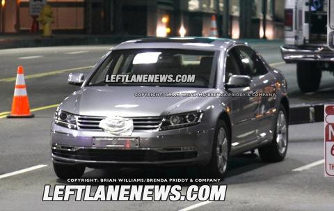 Nuevo Volkswagen Phateon: fotos espía
