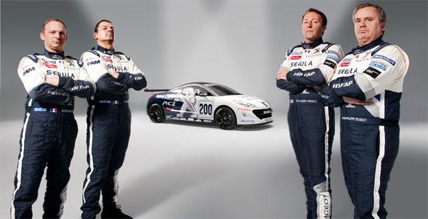Peugeot RCZ diesel para las 24 Hrs de Nürburgring