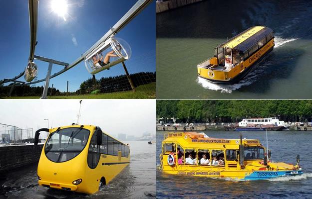 Conoce el transporte público más divertido en el mundo