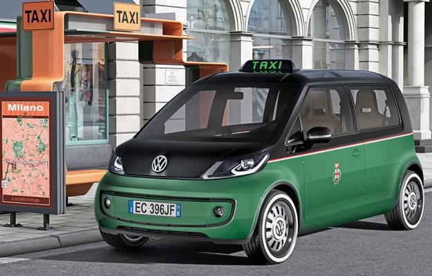 Volkswagen Milano Taxi Concept, el taxi urbano del futuro