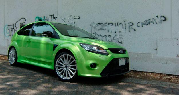 Ford Focus RS 2010 a prueba