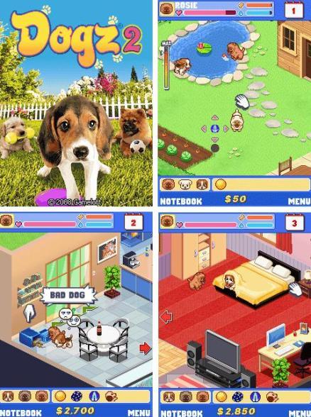 Dogz 2 juego para cuidar perros gratis en tu celular - Perros para tener en casa ...