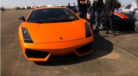 Ya en vídeo: Lamborghini Gallardo batiendo récords en Texas
