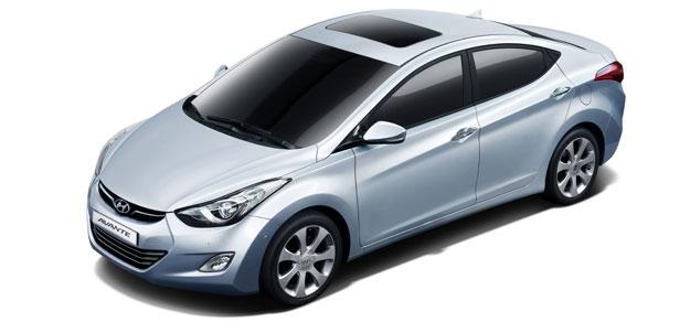 Hyundai Avante en el Salón de Busán