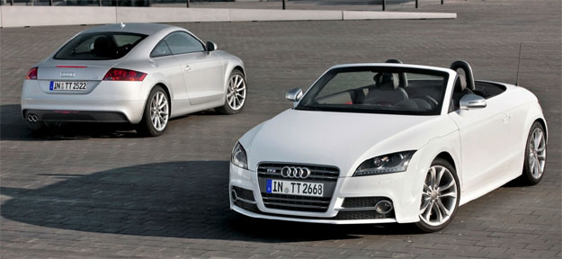 Audi TT 2010 presenta su discreto lavado de cara