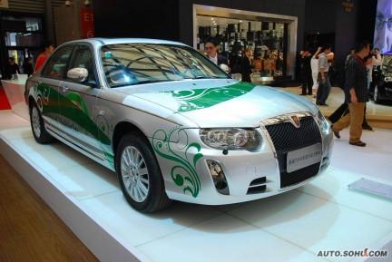 El Roewe 750 Hybrid listo para el mes de Mayo