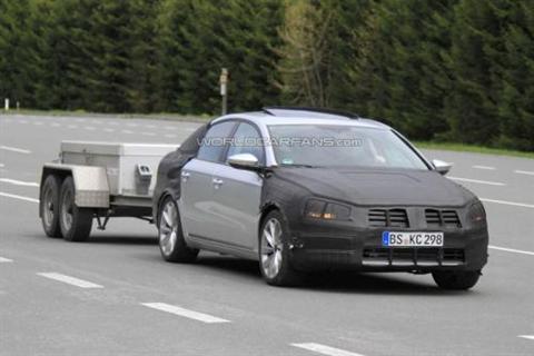 Próximo Volkswagen Passat: fotos espía