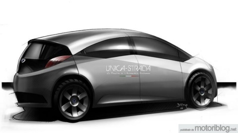 Lancia Ypsilon 2011: bocetos oficiales