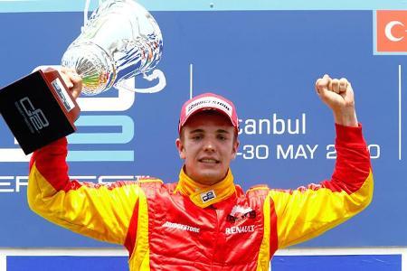 Clos obtuvo su primer triunfo en la GP2 Series
