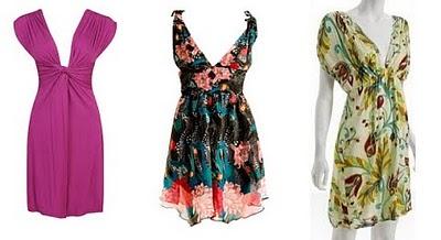 Modelos de vestidos para mujeres con espalda ancha