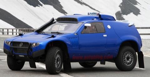 Volkswagen Race Touareg 2: fotos espía muy especiales