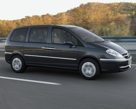 España: Cambios en la gama del Citroën C8