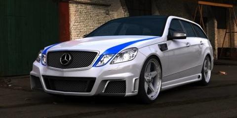 Mercedes E63 AMG Estate por GWA Tuning