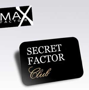 10519 162835018629 155406553629 2609125 1208333 n Max Factor pone en marcha el Secret Factor Club