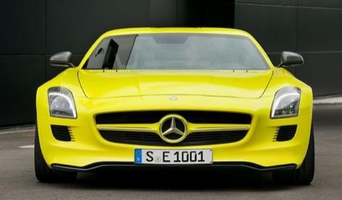 A sus pies: Mercedes-Benz SLS AMG E-Cell