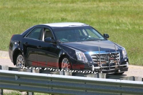 Cadillac ATS: primeras fotos espía