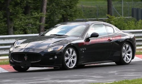 Maserati GranTurismo MC Corse, fotos espía