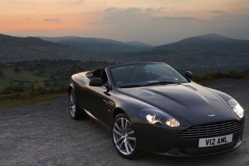 Renovado Aston Martin DB9: primeras fotos oficiales