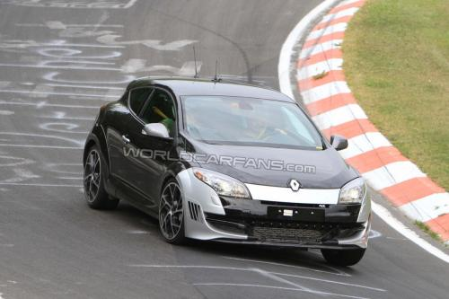 Misterioso Renault Megane RS, cazado en Nürburgring