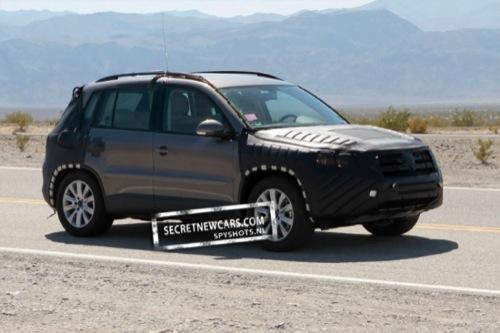 Fotos espía del próximo Volkswagen Tiguan