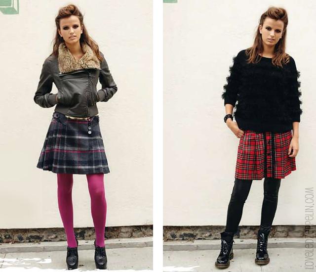 9b184edb8 Prendas de vestir exteriores de todos los tiempos: Faldas tableadas ...