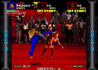 Pit Fighter Screenshot