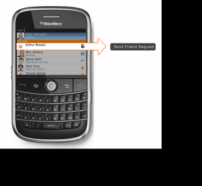 BlackBerry messenger1 Nimbuzz 1.3 para BlackBerry ya disponible