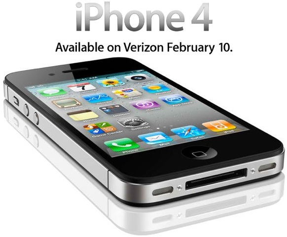 iPhone 4 Verizon iPhone 4 en Verizon