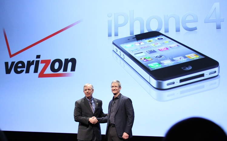iPhone Verizon iPhone 4 en Verizon