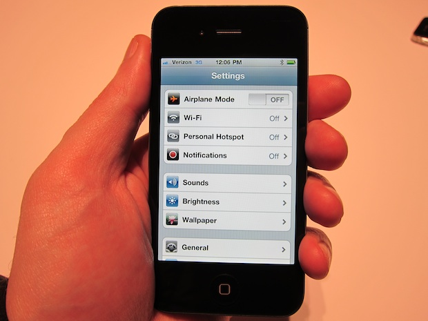 how to use iphone 4 as hotspot