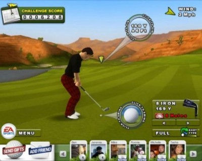 ea sports golf facebook 400x319 EA Sports lanza juegos para Facebook