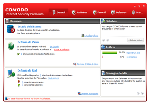 Comodo Internet Security: firewall y AntiVirus