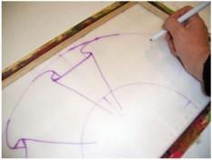 Los abanicos como los hacemos - Como pintar abanicos ...