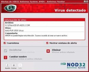 NOD32 Anti Virus System: programa antivirus