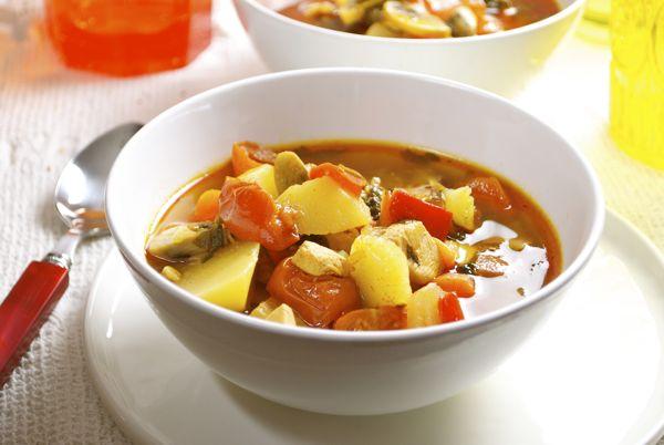 Recetas Verduras Colombianas Pollo Con Verduras Receta